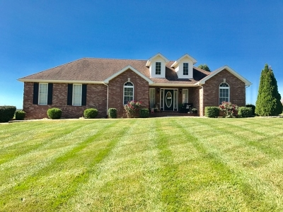 Campbellsville Single Family Home For Sale: 400 Hidden Meadows Drive