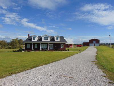Hart County Single Family Home For Sale: 100 Ct Hogan Lane
