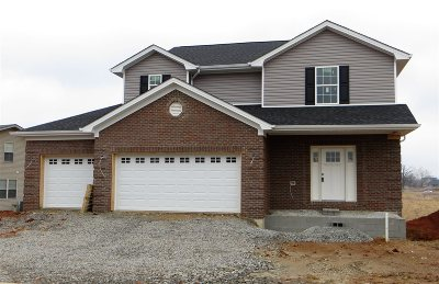 Vine Grove Single Family Home For Sale: 110 Twin Lakes Drive #lot 127
