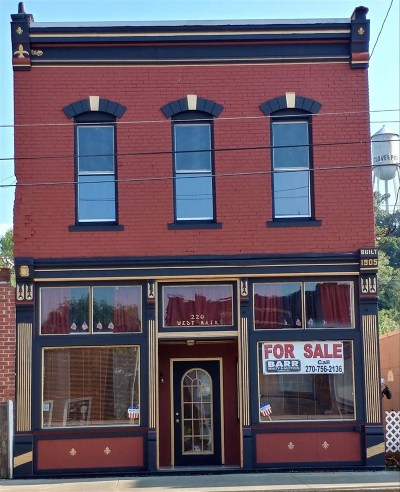 Breckinridge County Single Family Home For Sale: 220 W Main Street