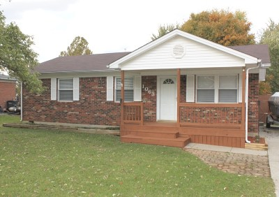 Elizabethtown Single Family Home For Sale: 1063 Greenway Drive