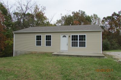 Radcliff KY Single Family Home For Sale: $99,900