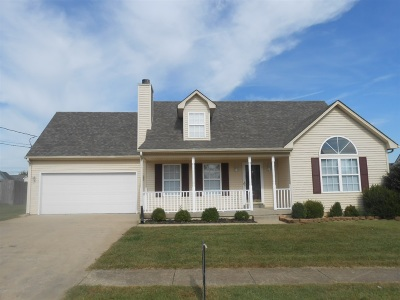 Radcliff Single Family Home For Sale: 104 Wayne Way