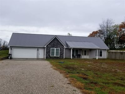 Hodgenville Single Family Home For Sale: 1279 Cruse Road