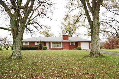 Campbellsville Single Family Home For Sale: 285 Hill Lane