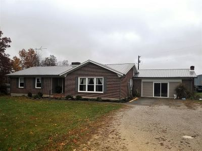 Hodgenville Single Family Home For Sale: 5697 New Jackson Highway