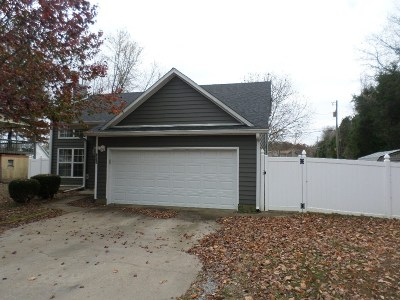 Radcliff KY Single Family Home For Sale: $119,900