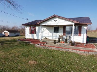 Leitchfield Single Family Home For Sale: 14359 S Highway 259