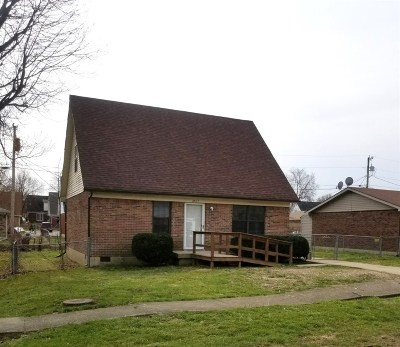 Radcliff KY Single Family Home For Sale: $105,000