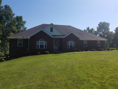 Campbellsville Single Family Home For Sale: 160 Brooke Way