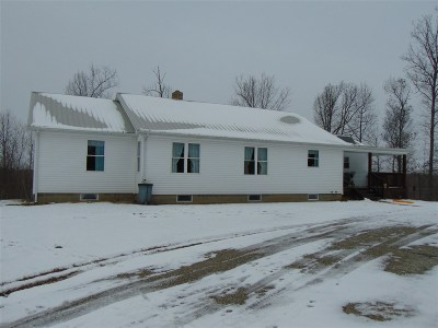 Munfordville Single Family Home For Sale: 8445 Cub Run Highway
