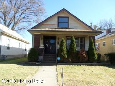 Louisville Single Family Home For Sale: 805 S 41st Street