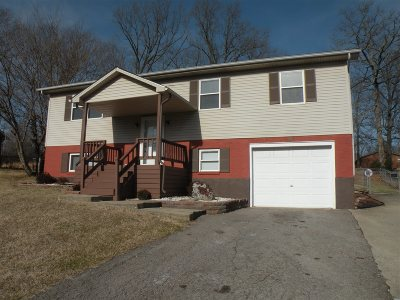 Radcliff KY Single Family Home For Sale: $129,000