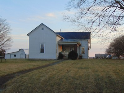 Horse Cave Single Family Home For Sale: 4579 Bunnell Crossing Road