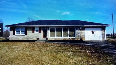 Hodgenville Single Family Home For Sale: 2498 Campbellsville Road