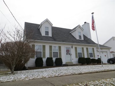 Meade County, Bullitt County, Hardin County Single Family Home For Sale: 832 Edgebrook Drive