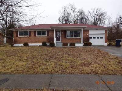 Radcliff KY Single Family Home For Sale: $69,500