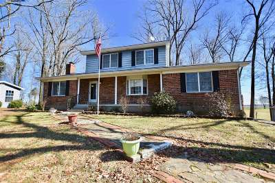 Single Family Home For Sale: 1170 Hansborough Road