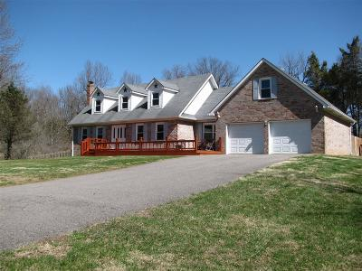 Meade County, Bullitt County, Hardin County Single Family Home For Sale: 1100 Overall Phillips Road