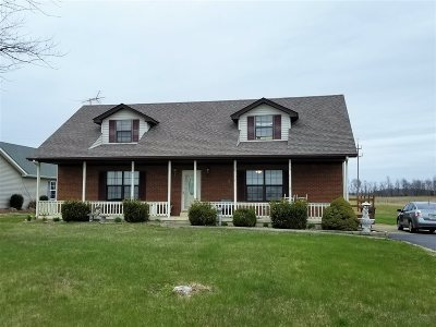 Hodgenville Single Family Home For Sale: 1748 Tonnieville Road
