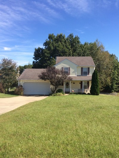 Radcliff Single Family Home For Sale: 208 Meadowlake Drive