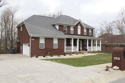Elizabethtown Single Family Home For Sale: 216 Anniston Way