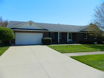 Elizabethtown KY Single Family Home For Sale: $245,000