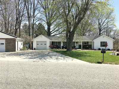 Campbellsville Single Family Home For Sale: 636 Soule Chapel Road