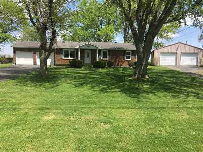 Campbellsville Single Family Home For Sale: 612 Friendship Pike