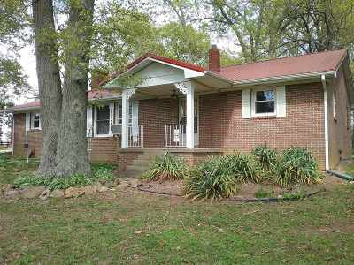 Meade County Single Family Home For Sale: 1625 Miller Road