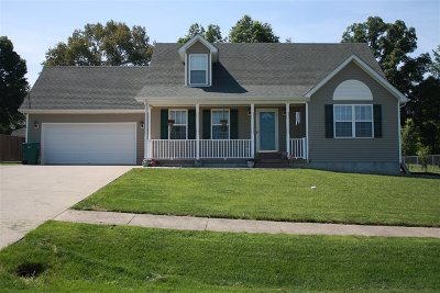 Radcliff KY Single Family Home For Sale: $204,900