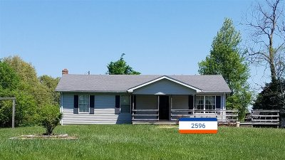 Meade County, Bullitt County, Hardin County Single Family Home For Sale: 2596 Richardson Road