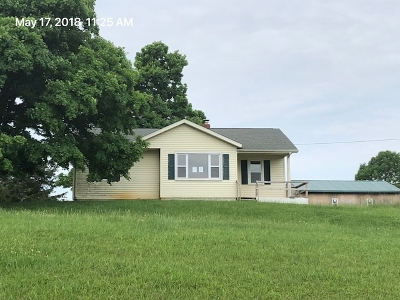 Campbellsville Single Family Home For Sale: 3166 W Saloma Road