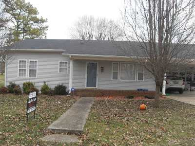Horse Cave Single Family Home For Sale: 301 E Dale Heights