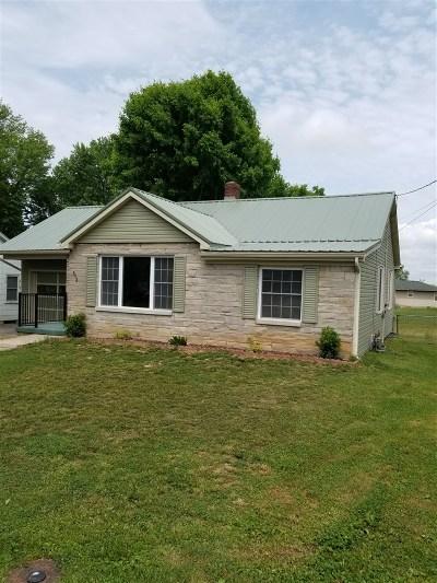 Elizabethtown KY Single Family Home For Sale: $135,000