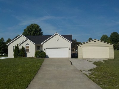 Radcliff KY Single Family Home For Sale: $224,900