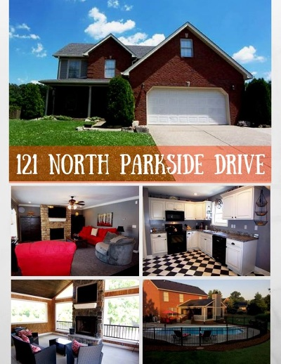 Bardstown Single Family Home For Sale: 121 N Parkside Drive