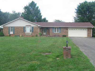 Campbellsville Single Family Home For Sale: 140 Delia Drive