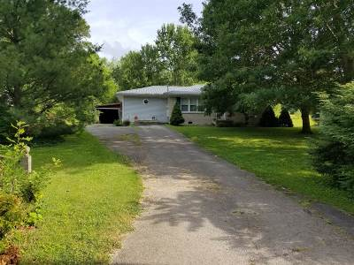 Campbellsville Single Family Home For Sale: 1837 Old Hodgenville Road