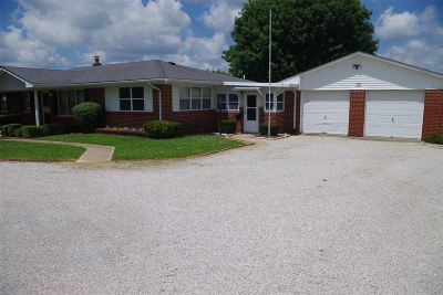 Hodgenville Single Family Home For Sale: 1383 Jericho Road