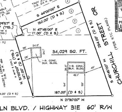 Hodgenville Commercial For Sale: 421 S Lincoln Boulevard