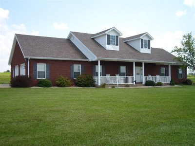 Hodgenville Single Family Home For Sale: 673 Walter Reed Road