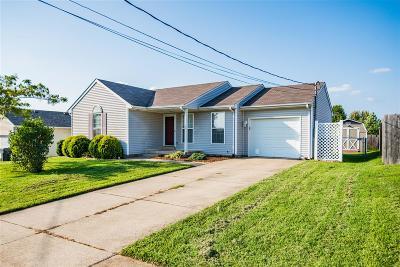 Elizabethtown KY Single Family Home For Sale: $130,000