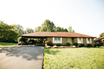 Campbellsville Single Family Home For Sale: 396 Lake Forest Drive