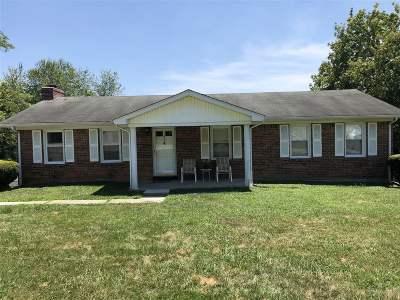 Elizabethtown KY Single Family Home For Sale: $120,000