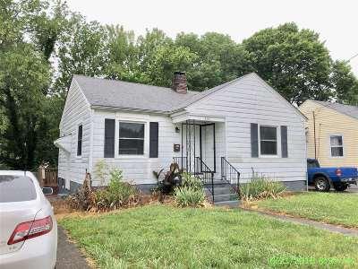 Elizabethtown KY Single Family Home For Sale: $64,000