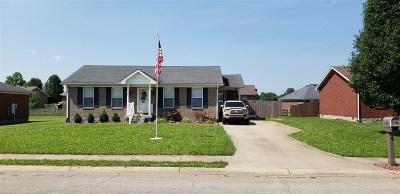 Bardstown Single Family Home For Sale: 107 Ballard Springs Court