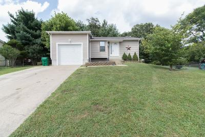 Radcliff KY Single Family Home For Sale: $133,000