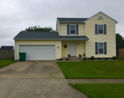 Elizabethtown KY Single Family Home For Sale: $157,900