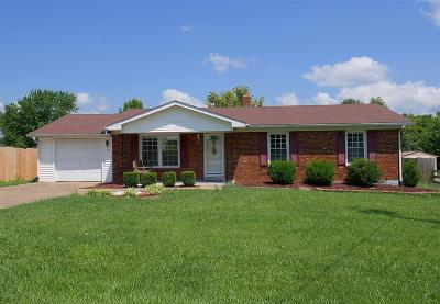 Hodgenville Single Family Home For Sale: 115 Rose Road